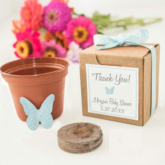 Butterfly Baby Shower Favors Personalized For Boy Girl Or Gender