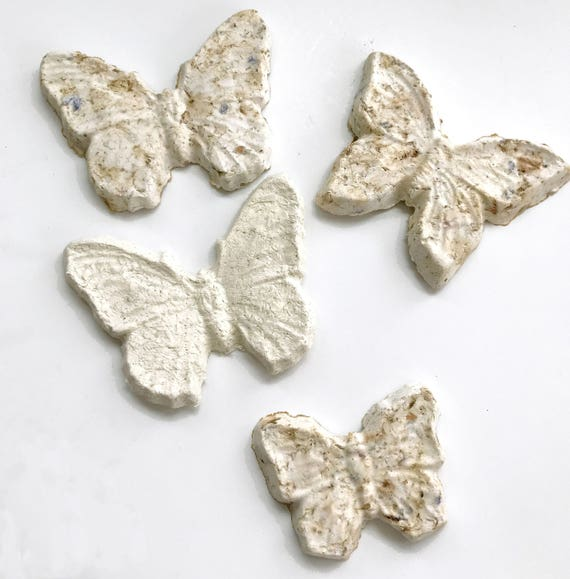 Plantable Seed Paper Butterflies For Weddings Bridal Showers