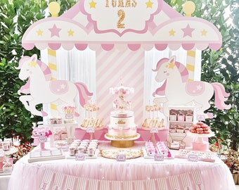 Carousel Party Etsy