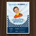DIGITAL FILE Skateboard Invitation, Skateboard Invite, Skatepark Invite, Your Custom Photo, Birthday Invitation, Party Printables