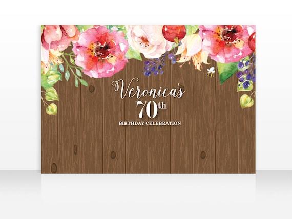 Digital File Floral Spring Backdrop Floral Flowers Birthday Large