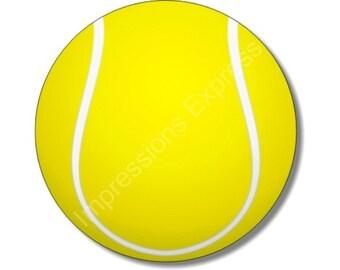 Tennis Ball Round Mousepad