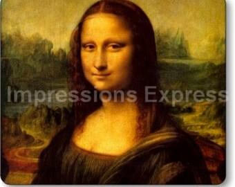 Mona Lisa Da Vinci Painting Mousepad