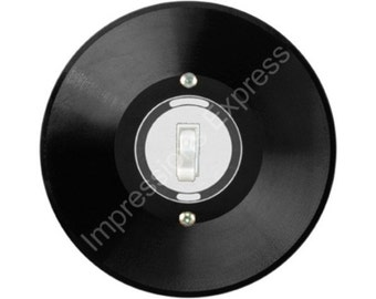 Vinyl Record Single Toggle Switch Plate Cover