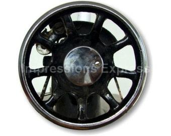 Sewing Machine Flywheel Round Mousepad