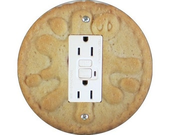 Jam Filled Cookie GFI Outlet Plate Cover