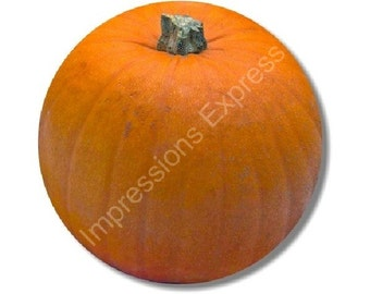 Pumpkin Round Mousepad