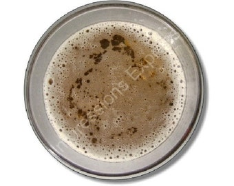 Beer Glass Round Mousepad