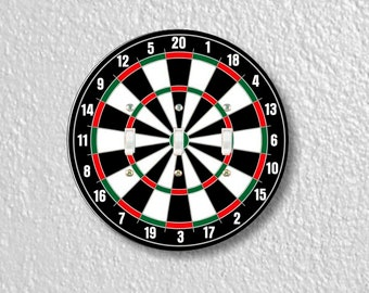 Darts Dartboard Round Triple Toggle Light Switch Plate Cover