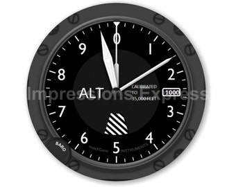 Altimeter Aviation Round Mousepad