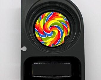 Giant Lollipop Round Sandstone Car Cupholder Coaster