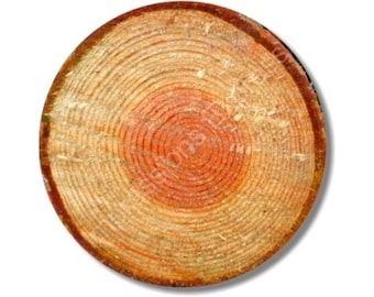 Tree Log Round Mousepad