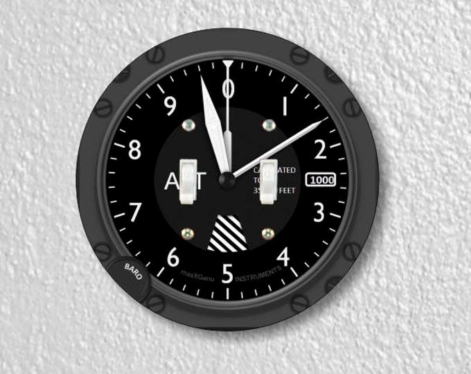 Featured listing image: Altimeter Aviation Double Toggle Round Light Switch Plate Cover