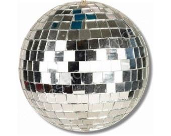 Disco Ball Round Mousepad