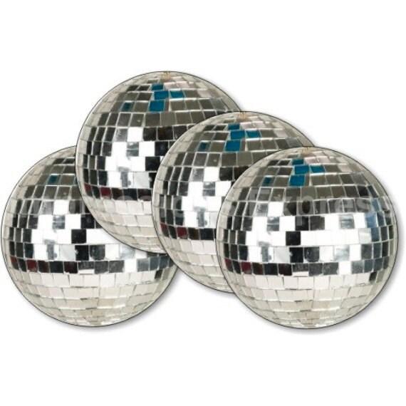 Disco Ball Coasters - Set of 4
