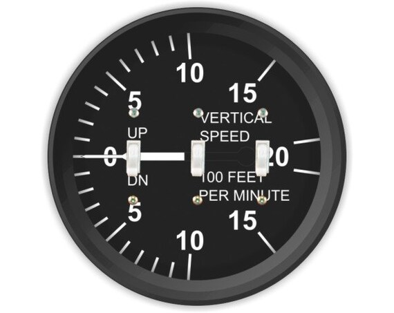 Vertical Speed Indicator Triple Toggle Switch Plate Cover