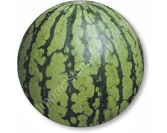 Watermelon Fruit Round Mousepad
