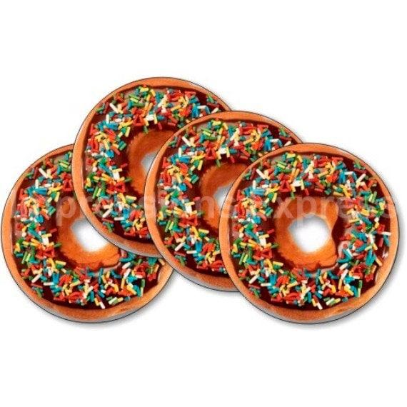 Doughnut Coasters - Set of 4