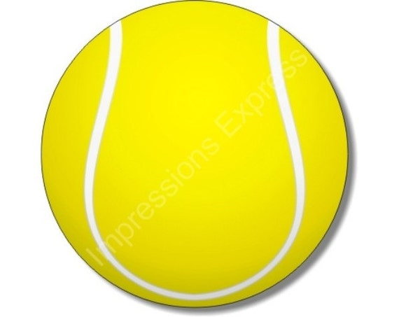 Tennis Ball Round Mousepad