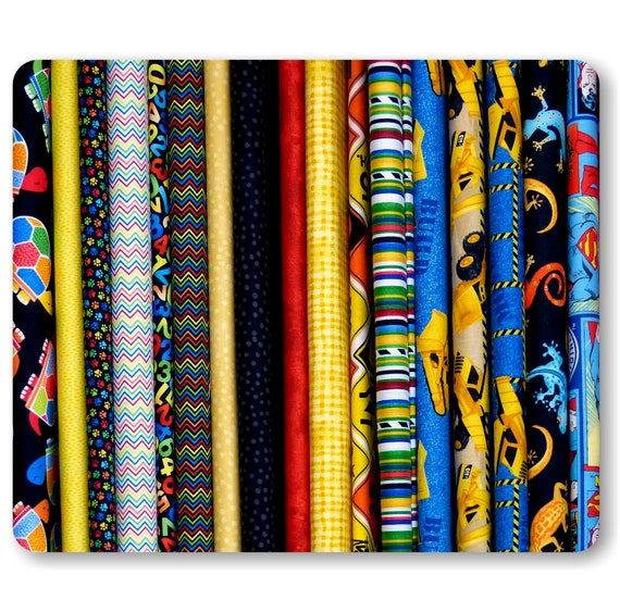 Quilt Fabric Photo Mouse Pad