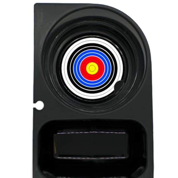 Archery Target Round Sandstone Car Cupholder Coaster