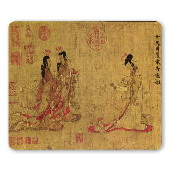 Admonitions Scroll Chinese Painting Mousepad