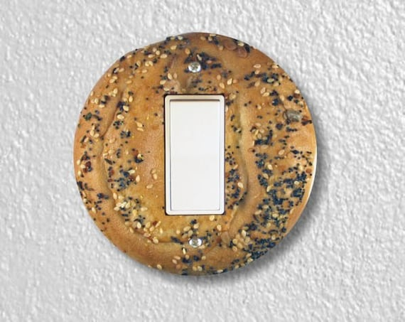 Bagel Round Decora Rocker Switch Plate Cover