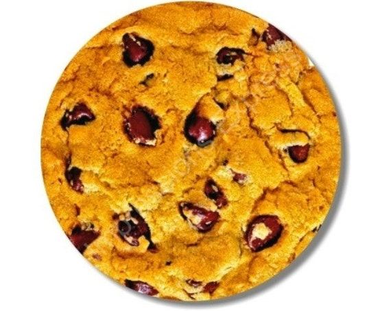 Chocolate Chip Cookie Round Mousepad
