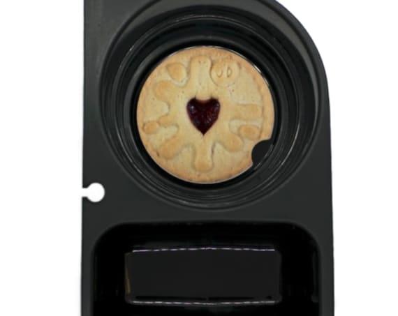 Jam Filled Cookie Round Sandstone Car Cupholder Coaster