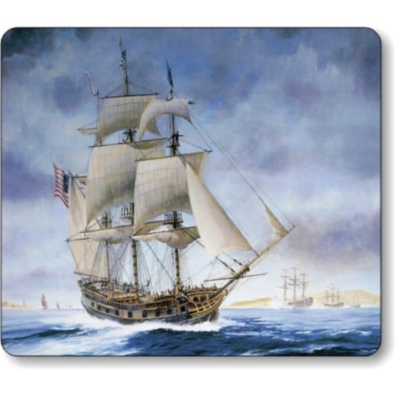 USS Ranger Tall Sailing Ship Nautical Mousepad