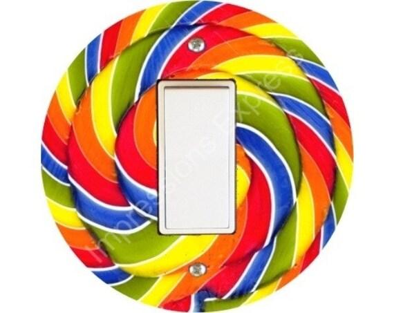 Giant Lollipop Decora Rocker Switch Plate Cover
