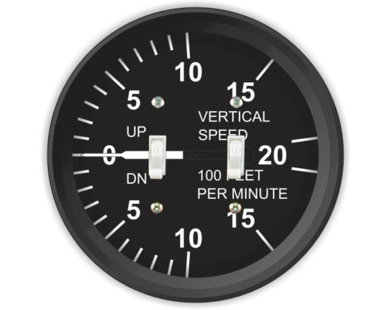Vertical Speed Indicator Double Toggle Switch Plate Cover