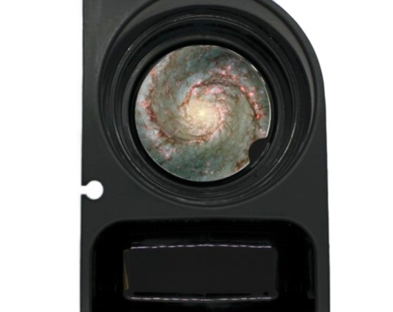 Whirlpool Galaxy Space Round Sandstone Car Cupholder Coaster