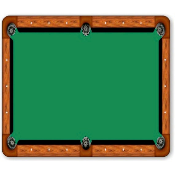 Billiard Table Mousepad