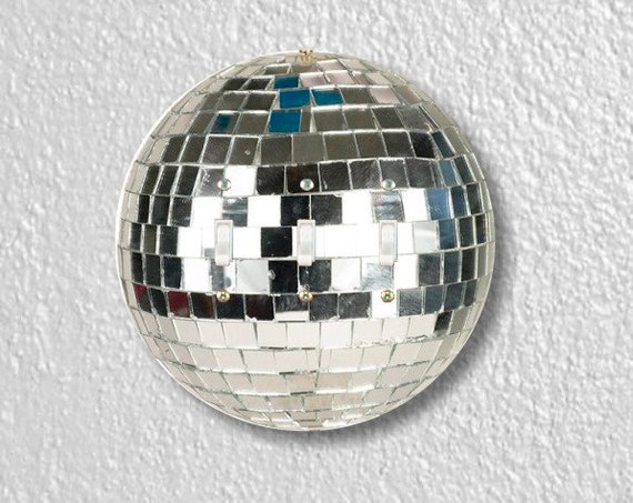 Disco Ball Round Triple Toggle Light Switch Plate Cover