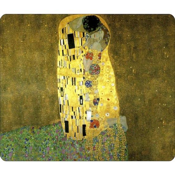 Klimt The Kiss Painting Mousepad