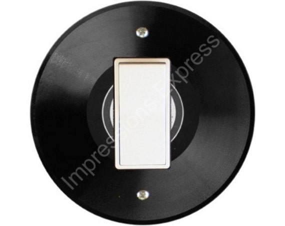 Vinyl Record Decora Rocker Switch Plate Cover