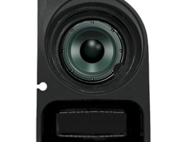 Black Music Loudspeaker Round Sandstone Car Cupholder Coaster