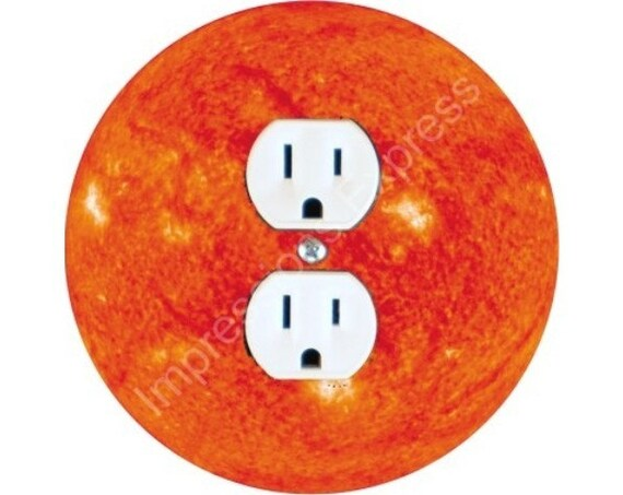 Sun Space Duplex Outlet Plate Cover