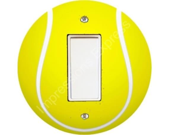 Tennis Ball Decora Rocker Switch Plate Cover