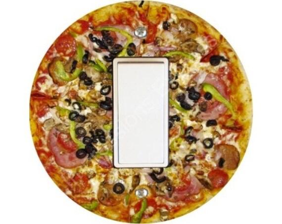 Supreme Pizza Decora Rocker Switch Plate Cover