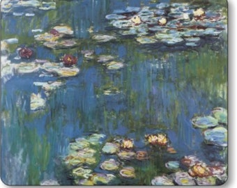 Monet Water Lilies Painting Mousepad