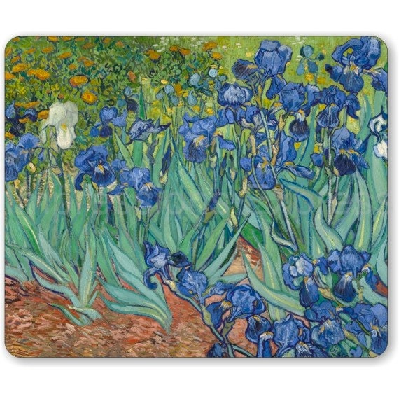Van Gogh Irises Painting Mousepad