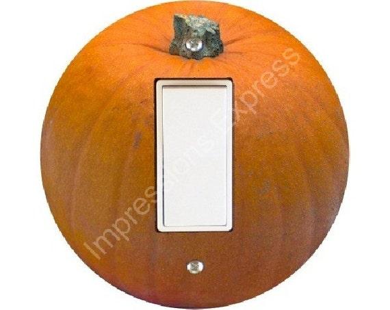 Pumpkin Decora Rocker Switch Plate Cover