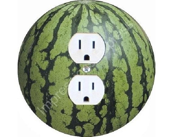 Watermelon Fruit Duplex Outlet Plate Cover
