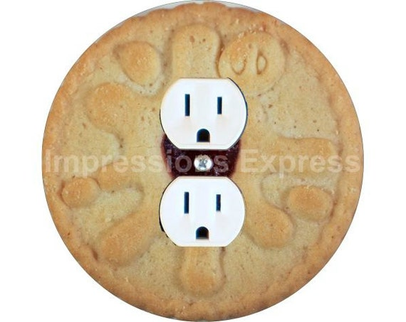Jam Filled Cookie Duplex Outlet Plate Cover