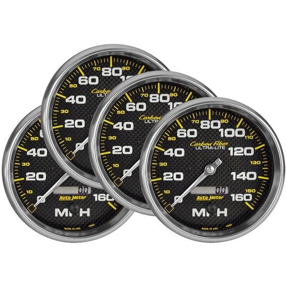 Car Speedometer Coasters - Set of 4