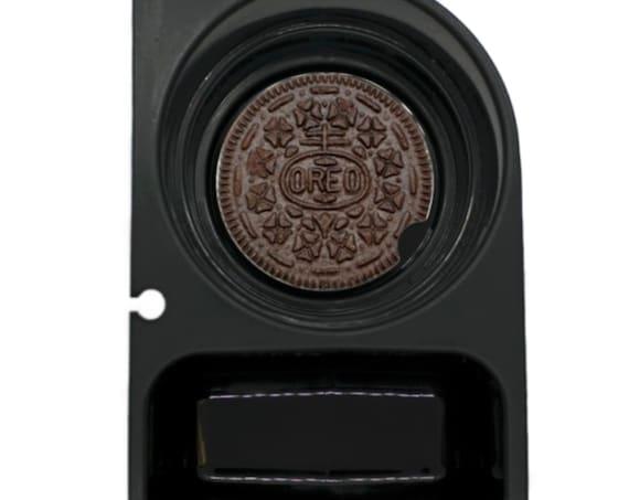 Chocolate Sandwich Cookie Round Sandstone Car Cupholder Coaster