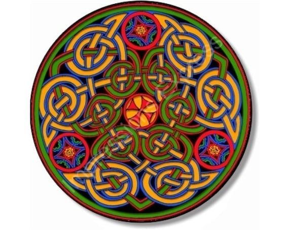 Celtic Knot Round Mousepad