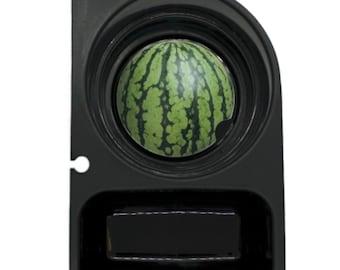 Watermelon Fruit Round Sandstone Car Cupholder Coaster